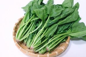 利尿作用の高い食べ物ほうれん草